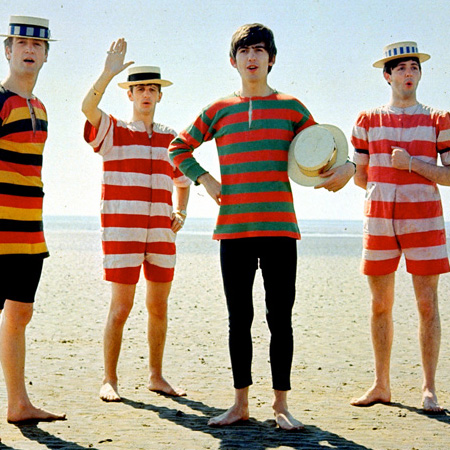 the beatles, beatles on the beach, beatles suck